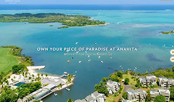Anahita Mauritius – Website