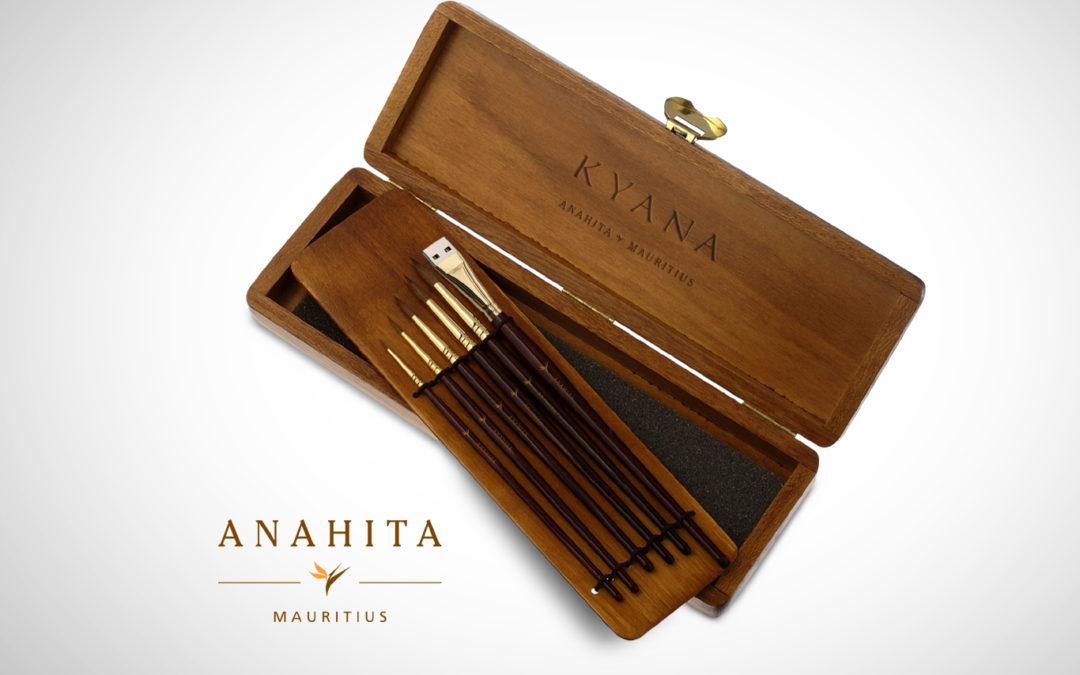 Anahita Mauritius – Easel Display